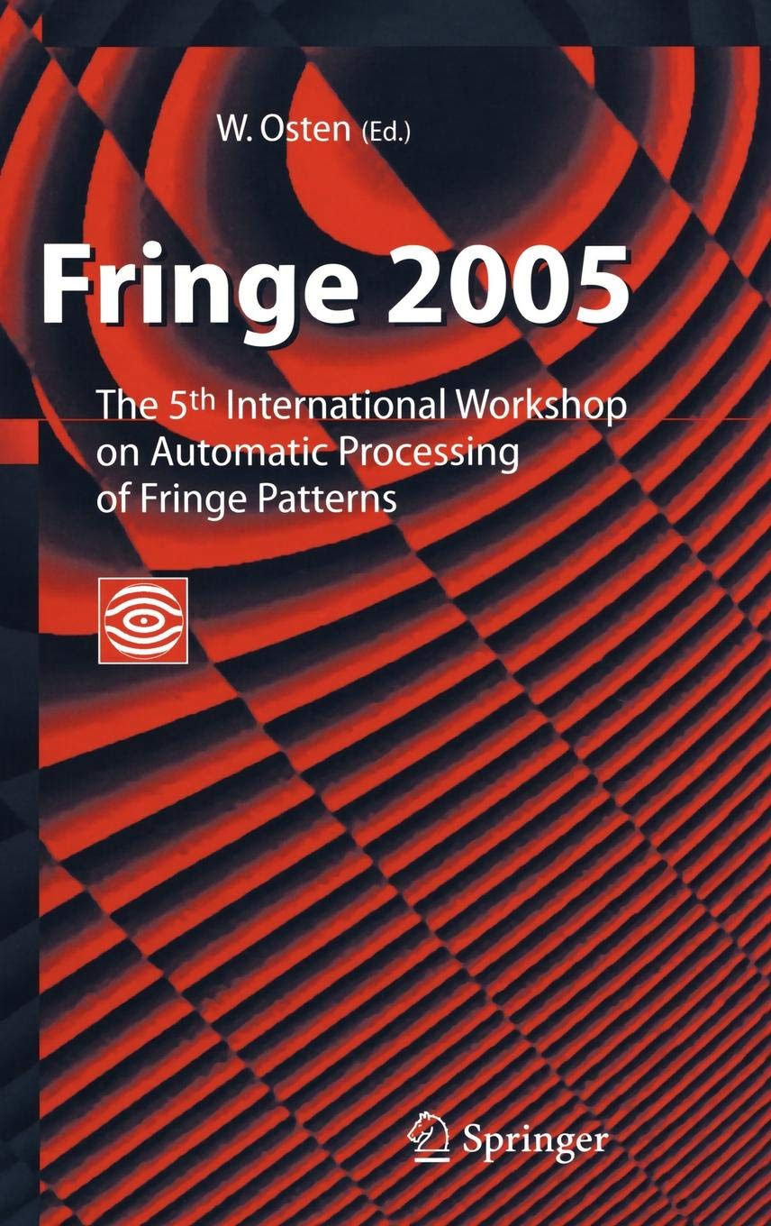 Fringe 2005  The 5th International Workshop On Automatic Processing Of Finge Patterns