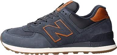 Amazon.com: New Balance 574 Azul Zapatillas para hombre ...