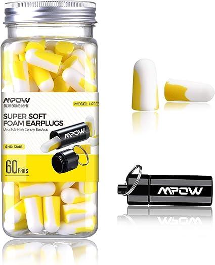 10Pairs Ear Plugs Foam Anti Noise Ear Plugs Ear Protectors Soundproof EarpluLU