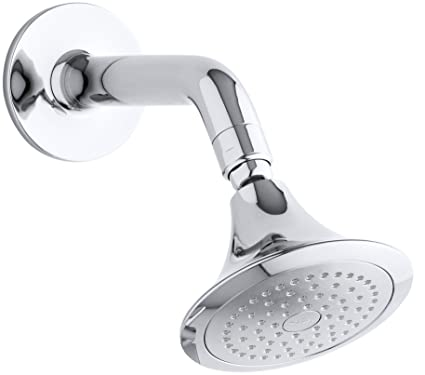 Kohler K 18493 Cp Symbol Single Function Showerhead With Arm And