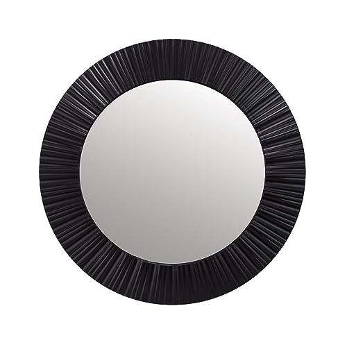 36 inch round mirror 42 inch kiera grace groove 20inch round mirror black mirror amazoncom