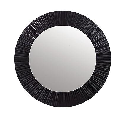 835ccd7006c8 Amazon.com  Kiera Grace Groove 20-Inch Round Mirror