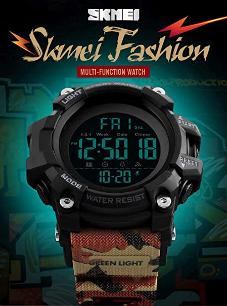 LCNINGZNSB EX16Plus 5TAM Smartwatch Impermeable Camuflaje ...