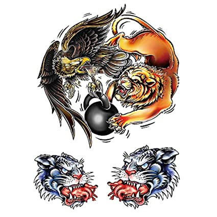 3 Unids-Flor Brazo Etiqueta Engomada Del Tatuaje Impermeable ...