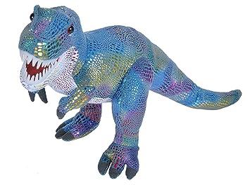 Amazon Com Wild Republic T Rex Plush Glitter Dinosaur Stuffed