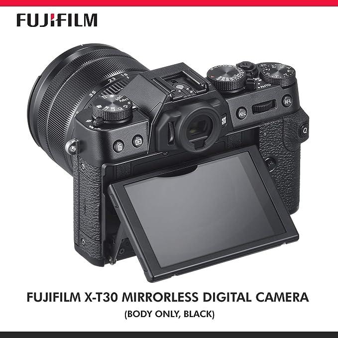 Amazon com: Fujifilm X-T30 4K Wi-Fi Mirrorless Digital