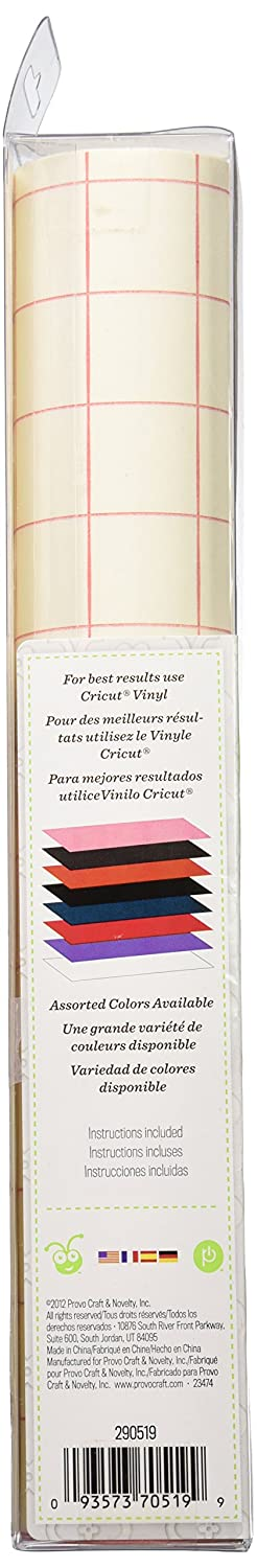 amazoncom cricut cuttables vinyl transfer tape 2 12 inch by 24 inch sheets - Cricut Vinyl Colors