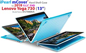 "mCover iPearl Hard Shell Case for New 13.3"" Lenovo Yoga 720 (13) Laptop (Aqua)"