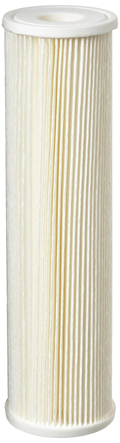 Pentek ECP5 10 Pleated Cellulose Polyester Filter Cartridge 9 3 4 x 2 5 8 5 Microns