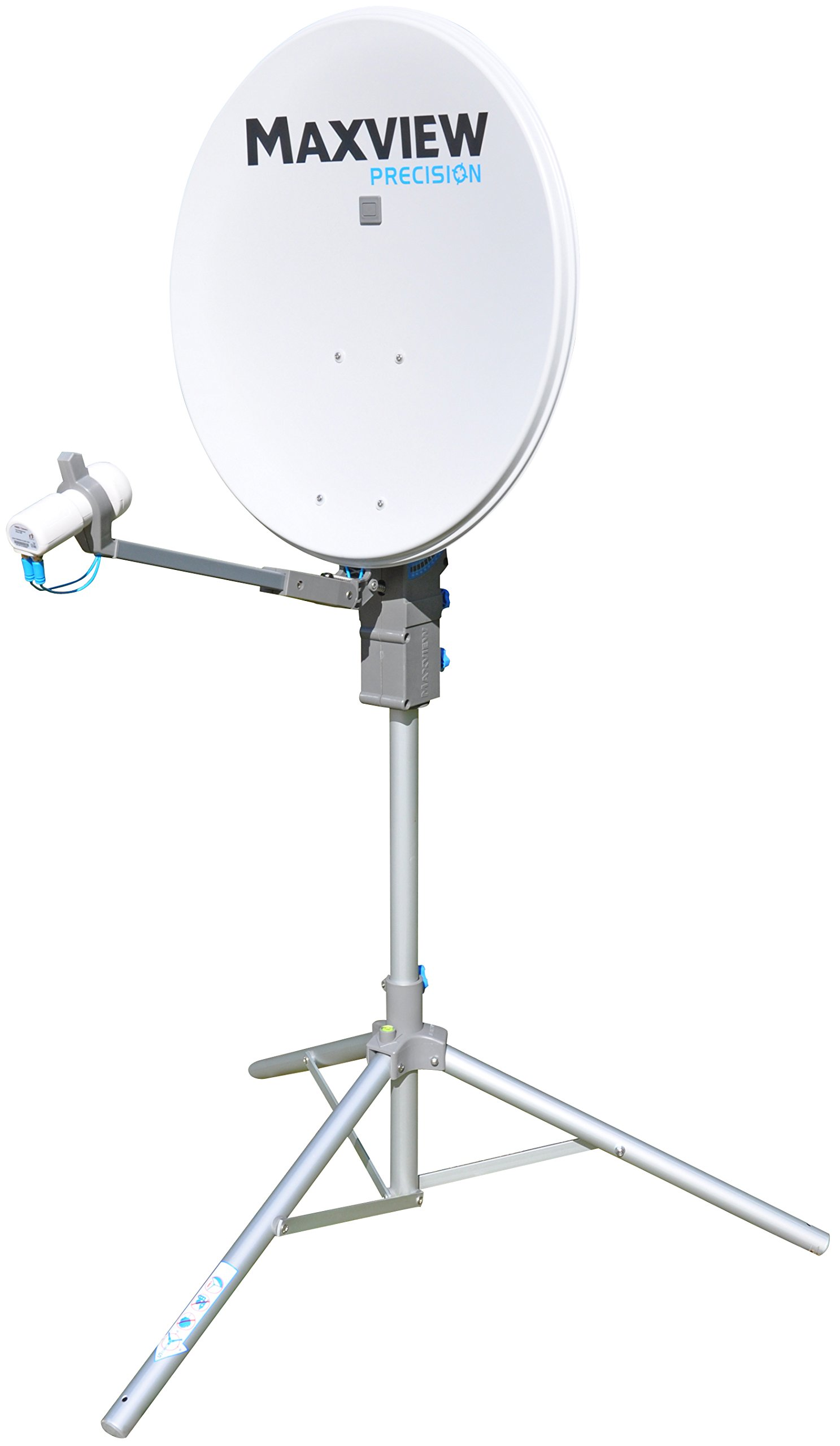 Maxview MXL01255TWIN Precision Satellite Kit with Twin LNB, 55 cm by Maxview