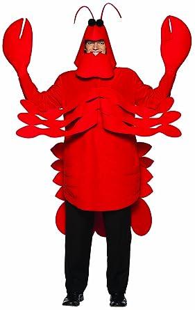 amazon com rasta imposta lightweight lobster costume red one size