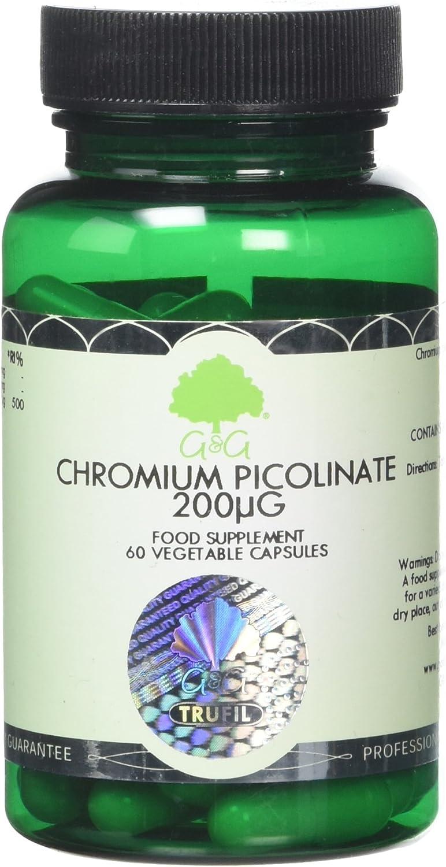 G&G Vitamins 200 µg Chromium Picolinate Capsules