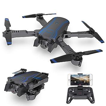 AKASO A300 Drone Plegable con Cámara 1080P HD Avión con WiFi FPV ...