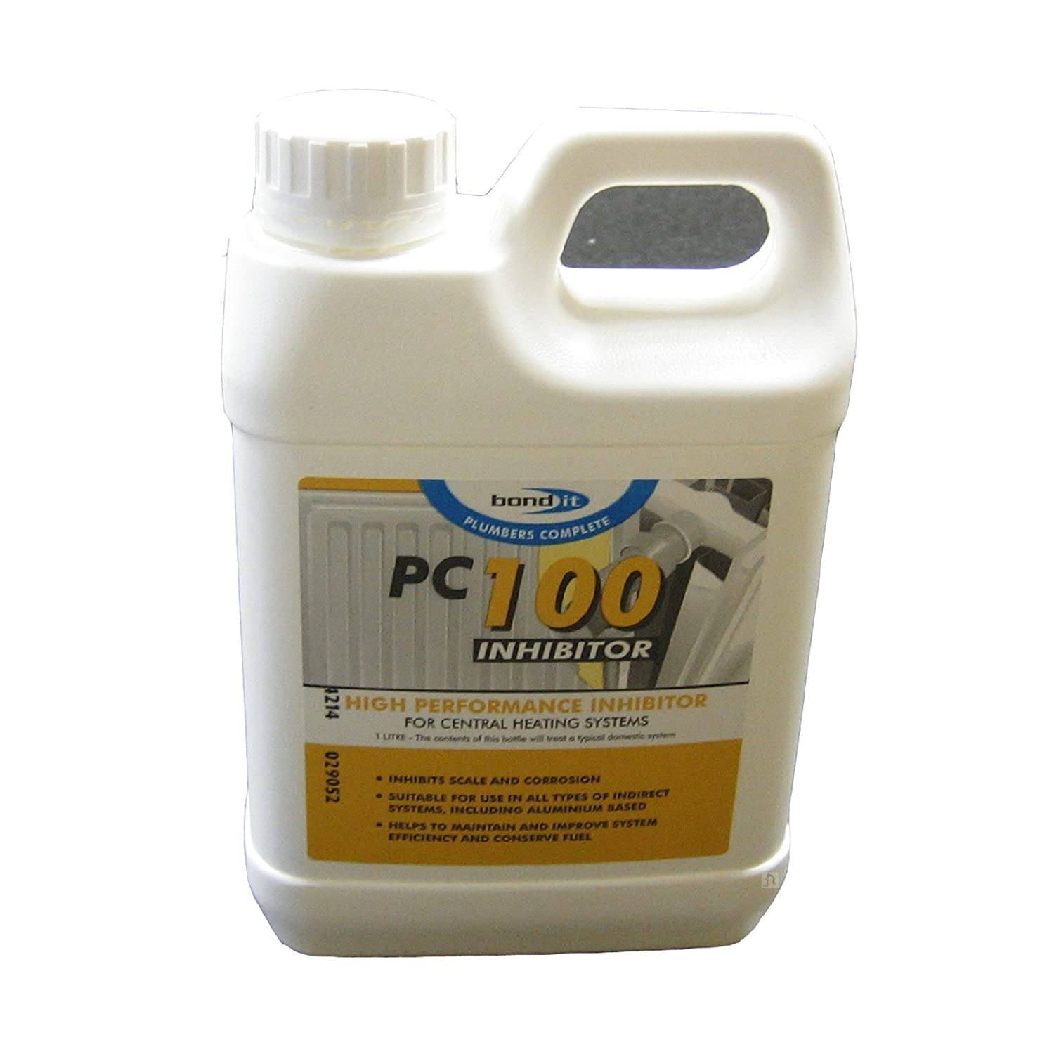 Central Heating System Inhibitor Bond-it PC100 1 Litre Stops Scale ...