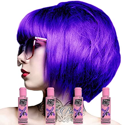 Crazy Color, Colorete, Violeta - 100 gr.