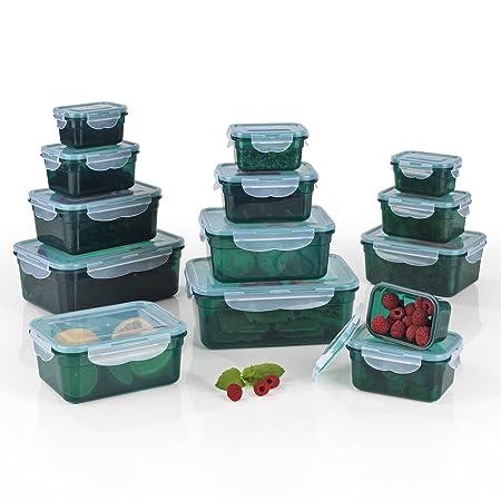 Recipientes herméticos Gourmet Maxx, adecuados para microondas ...