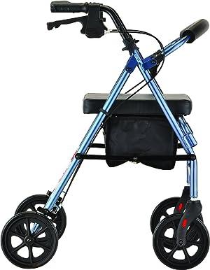 NOVA Medical Products Vibe Wide Rolling Walker, 18.5 Pound