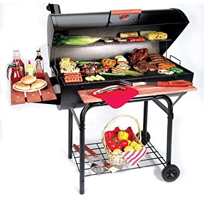 Char-Griller 2137 Outlaw 1063 Square Inch Charcoal Grill