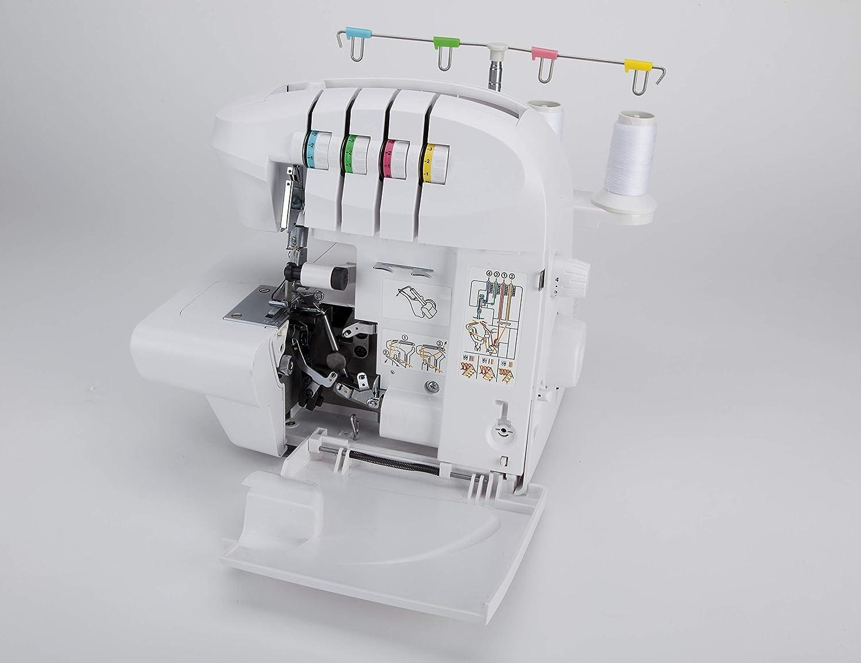 Jata OL902 Remalladora Electrónica de 2, 3 y 4 Hilos para 1 ó 2 ...