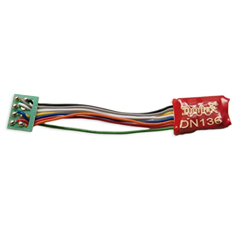 Amazon.com: Digitrax DGTDN136PS N DCC Decoder Series 6, 3.2 ... on