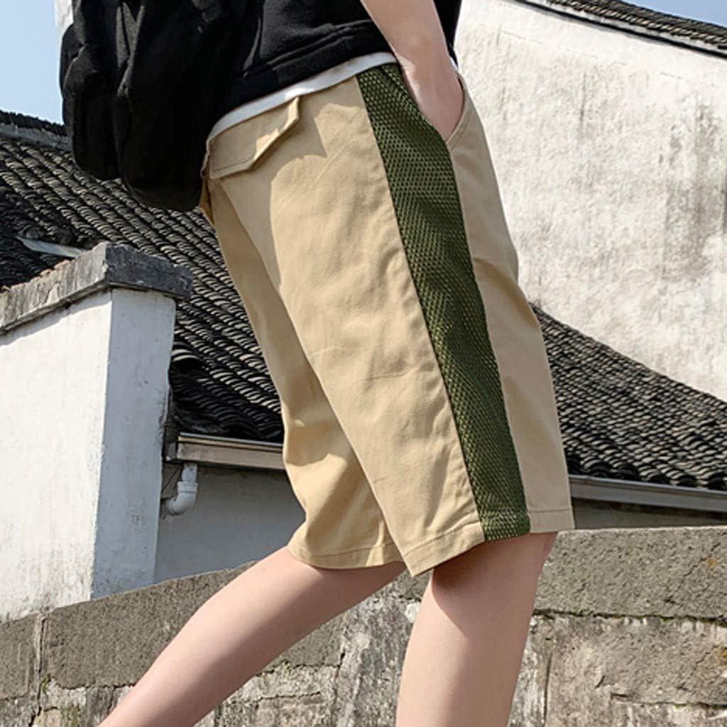 Pandaie Mens Pants Shorts New-Summer Men Distressed Denim Shorts Ripped Jeans Short Casual Holes Pants