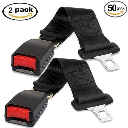 Car Seat Belt Extender Gintenco Lap Belts 2 PcsCar Extension