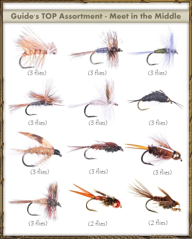 12 and 14 3 Mullard /& Silver Wet Trout Flies Fishing Flies Sizes 10