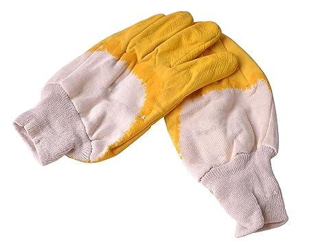 Pindia Rubber Garden Gloves (Multicolour, 1-Pair, Resin)