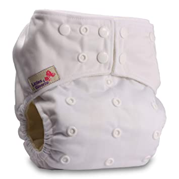 Baby Cloth Washable Reusable Nappy Pocket Diaper Bamboo Littles /& Bloomz Without Insert Pattern 48 Fastener: Hook-Loop