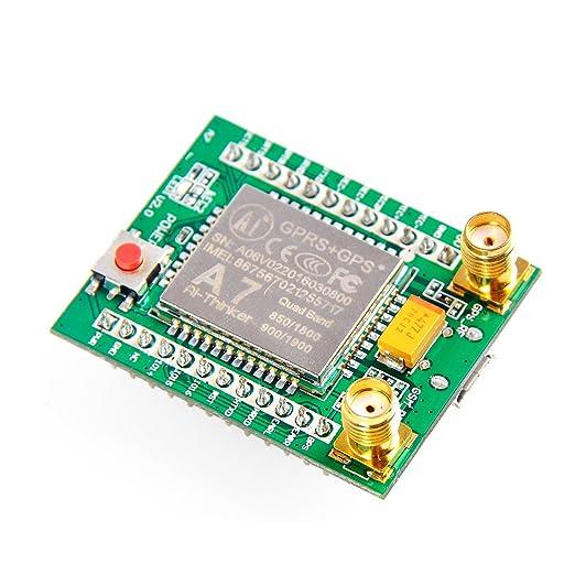 Makerfocus A7 GPS GPRS GSM Module Quad Band SMS Voice 850MHz