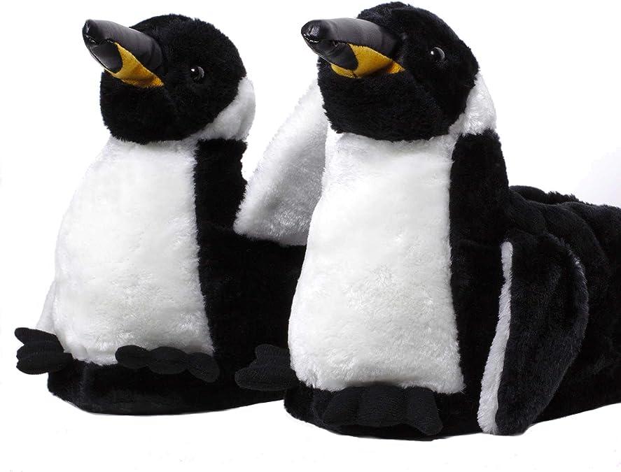 Sleeperz - Pinguino - Zapatillas de casa Animales Originales y Divertidas - Adultos y Niños - Hombre y Mujer: Amazon.es: Zapatos y complementos