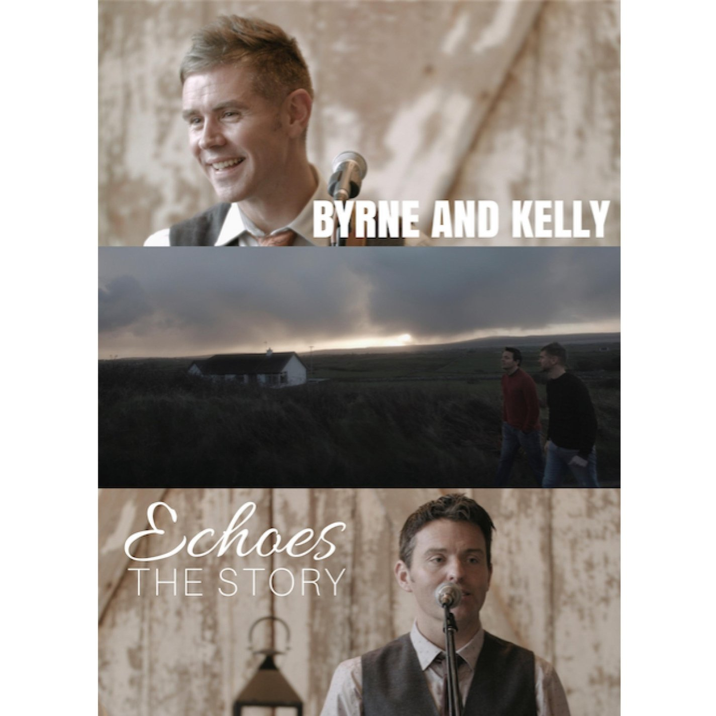 DVD : BYRNE - KELLY - Echoes: The Story (DVD)