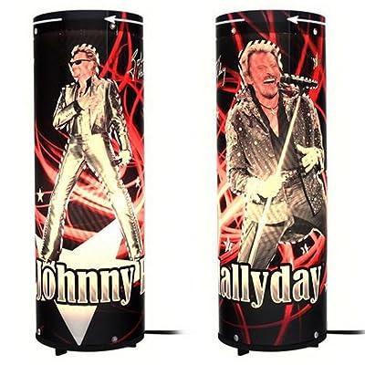 Lampe Animée Johnny Hallyday Silver