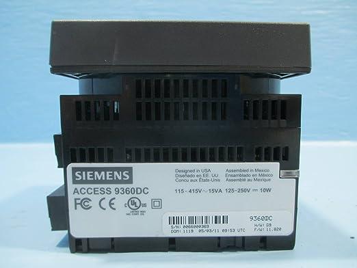 Amazon.com: Siemens 9360 9360dc Medidor de potencia ...