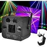 Jeux de lumières 6 projecteurs LEDs RGBW 2x10W DMX avec étrier de fixation + crochet