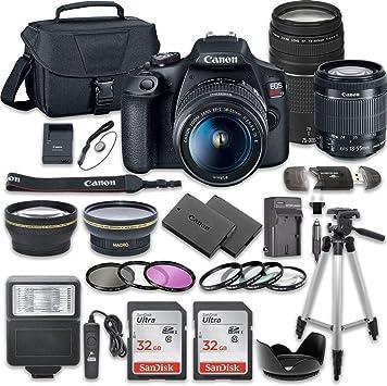 Amazon.com: Canon EOS Rebel T7 - Juego de cámara réflex ...