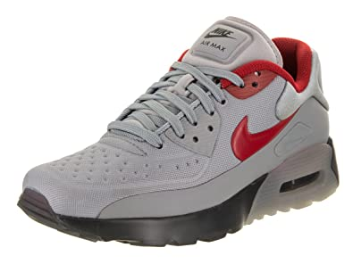 NIKE Kids Air Max 90 Ultra SE (GS) Stealth/Gym Red Anthracite Running