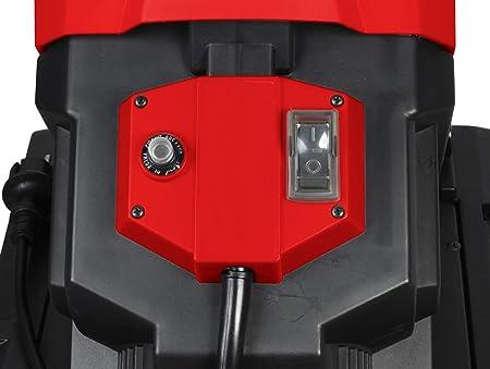 Matrix Gartenhachsler Elektro 2500 Watt Mit 50 Liter Fangkorb