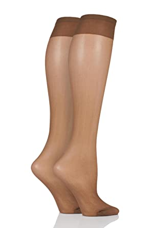 c534ac9903d31 Pendeza Women KH TONE Tone 10, 20, 30, 40 and 50 Knee Highs For Darker Skin  Tones 15 Denier Pack of 1 Tone 10 One Size: Amazon.co.uk: Clothing