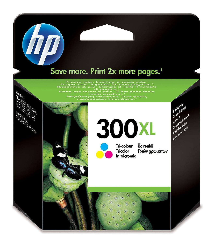 HP 300XL - Cartucho de tinta para impresoras (Cian, magenta ...