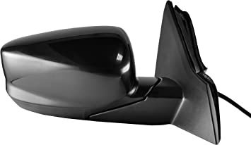 Power Operated HO1320272 Driver Side Unpainted Side View Mirror for 2013-2016 Honda Accord