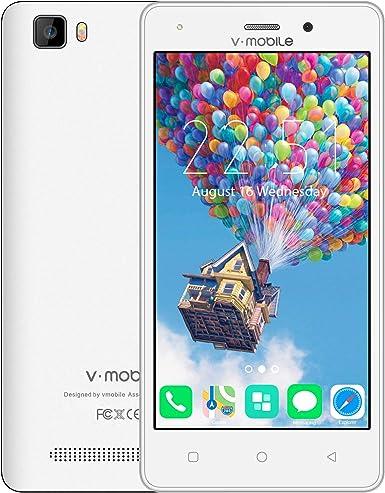 Teléfono celular desbloqueado, V Mobile A10 Dual Sim 4G ...