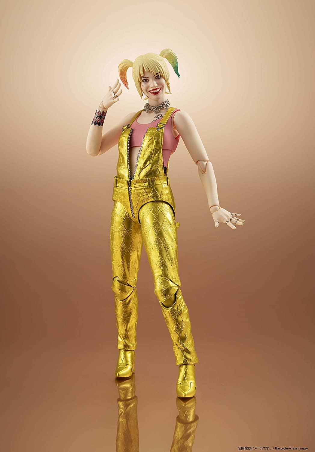 In-Stock Figuarts Harley Quinn Birds of Prey action figure Bandai S.H