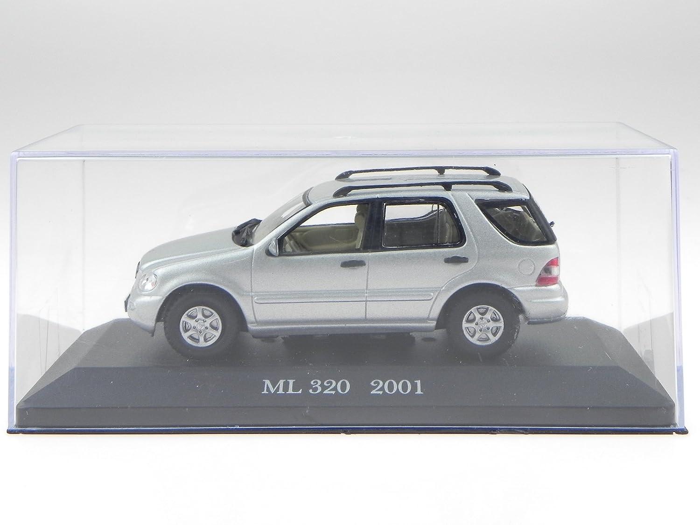 Mercedes BM163 M-Klasse ML 320 silber Modellauto 1:43