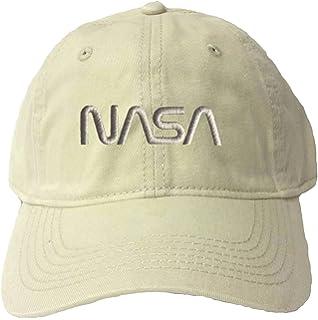 589b4903 Amazon.com: Go All Out Adjustable Black Adult NASA Worm Logo ...