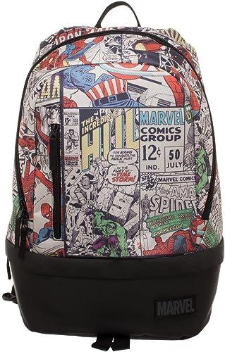 Marvel Comic Backpack – Marvel Backpack w Bottom Zip