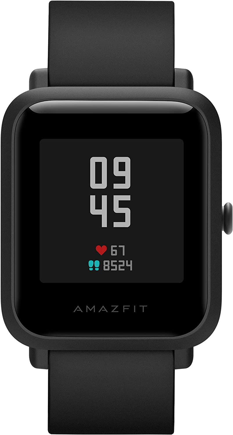 Amazfit Bip S Smartwatch 5ATM GPS GLONASS Inteligente Reloj Bluetooth Bip 2 para Android y iOS Version Global (Negro)