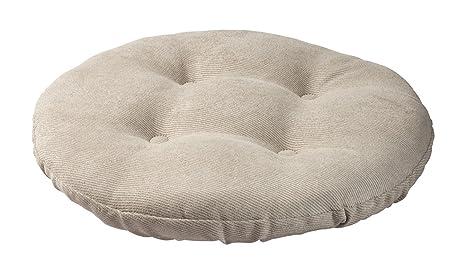 Amazoncom Twillo Bar Stool Seat Cushion Tufted Round Stool Cover