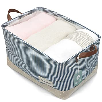 Organizing Baskets For Clothing Storage   Storage Baskets Made From  Eco Friendly Cotton. Works