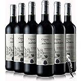 【优红酒酒庄直采】2014年法国原瓶原装进口 波尔多法定产区AOC 城堡级干红葡萄酒750ml (整箱六支装)